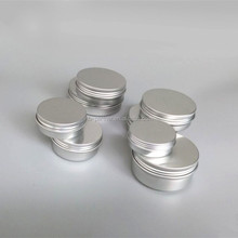 2016 Wholesale china factory 5g 10g 15g 20g 25g 50g 100g aluminum jar cosmetic jar