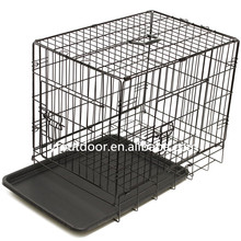 Hot sale metal doublel dog cage for sale