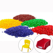 China Abs Red Color Plastic Pellet Electrostatic Masterbatch
