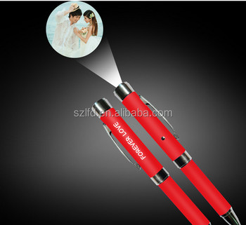 led LOGO projector pen, Advertising led laser pen