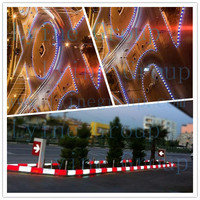 Led light plastomer stepping stone molds colorful road side pavement