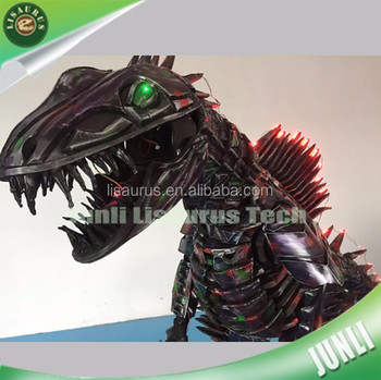 Lisaurus-CH1071 Cartoon characters custom handmade EVA armor suits dinosaur costume with led lights