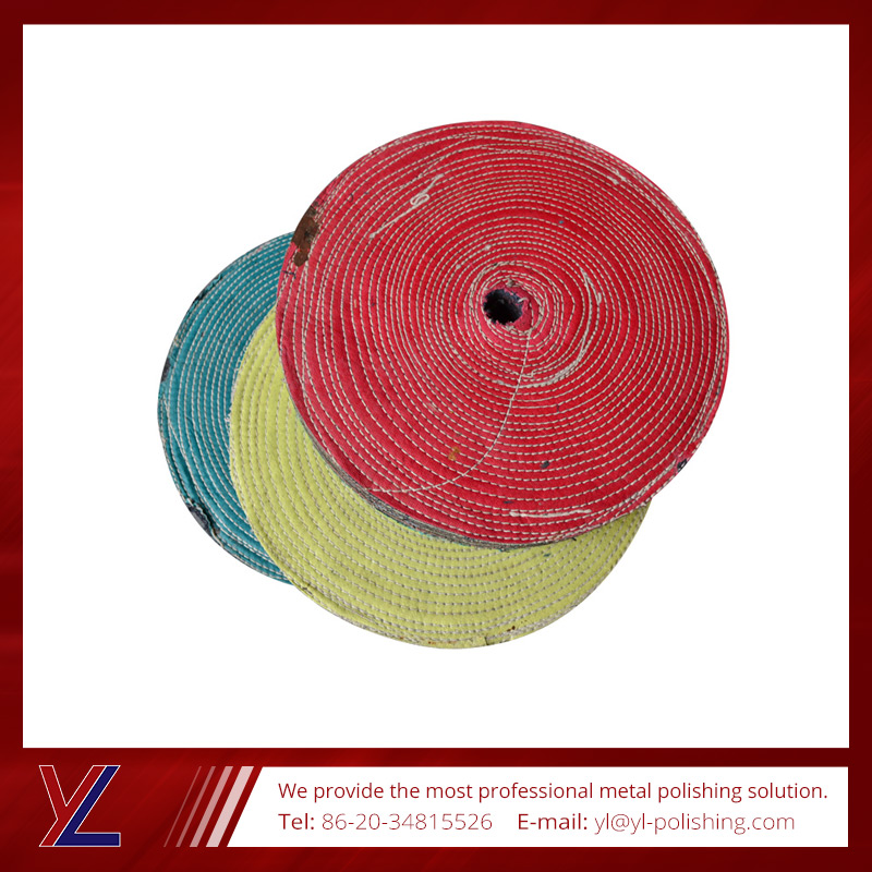 High quality soft cotton cloth wheel for surface buffing