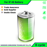 Long Life Smartphone Battery 1430mAh Battery Low Price for iPhone 4S Shenzhen Manufacturer