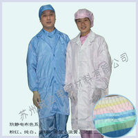ESD clean smock for electronic suppliers