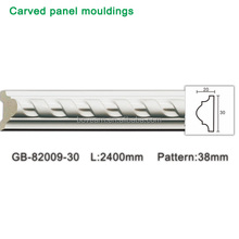 Cheap Polyurethane panel ceiling cornice Pu carving moulding