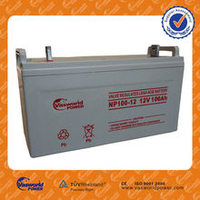 12v 100a solar battery lead acid agm battery with the lowest price