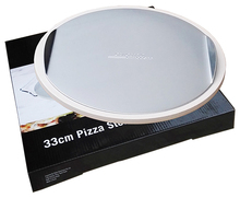 PD13-2A 13 Inch Cordierite Pizza Oven Stone with Aluminium Baking Tray