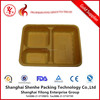 plastic food tray plastic serving tray disposable plastic divided food tray