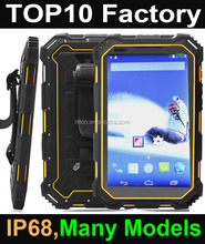 Cheapest android Rugged Tablet, Universal network 7 inch 3g waterproof calling tablet pc, NFC rugged tablet pc with android 3g