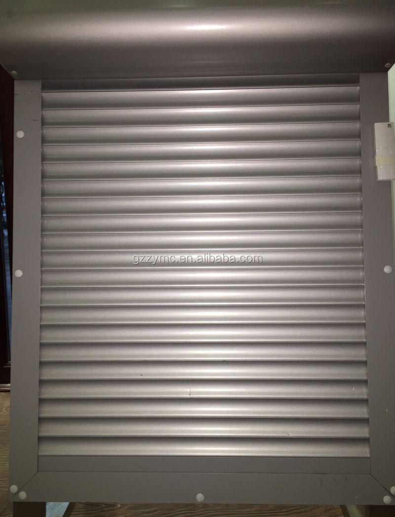 Powder coated aluminum roller up shutter automatic garage