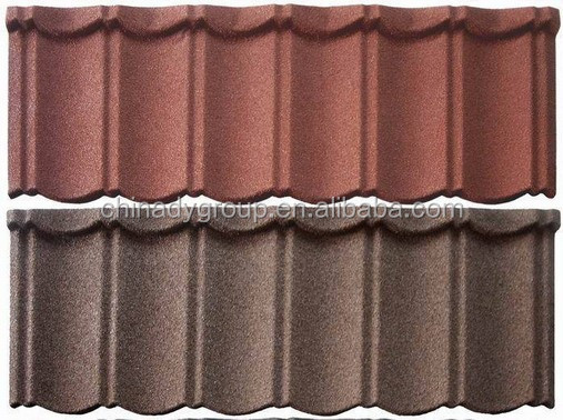 Stone Coated Steel Roof Tiles