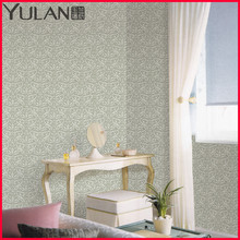 European Style 54 Inches Fire-retardant Fabric Back Vinyl Wallpaper