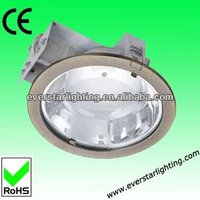 160/230mm Die-casting aluminium recessed downlight