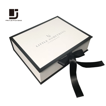 Luxury custom brand clothing box packaging for lingerie