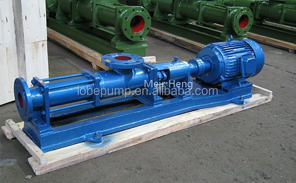 G single screw progressive cavity pump self-priming slurry pump