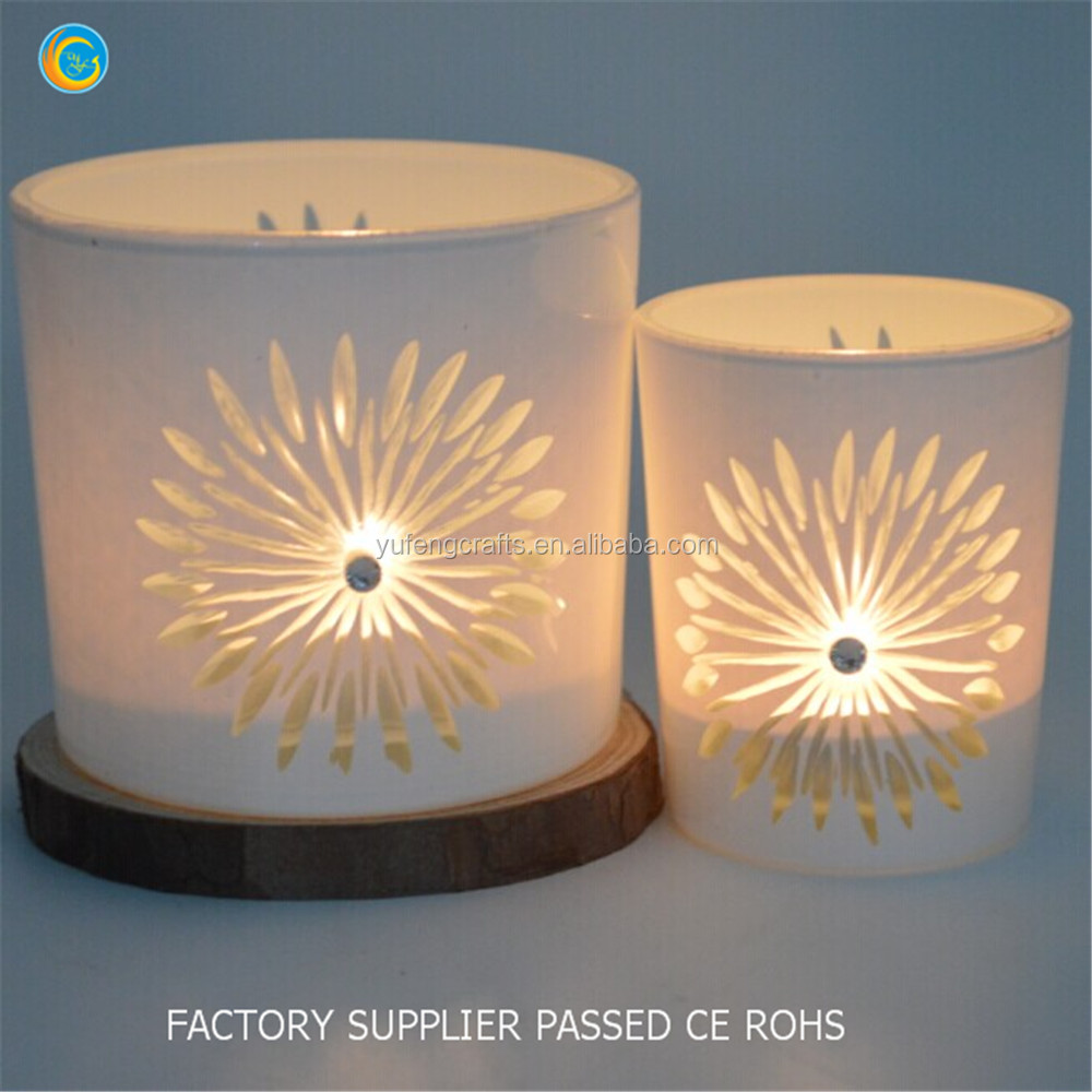 2016 creative new modern western style hot sale glass candle holder 100% payment protection for your covered