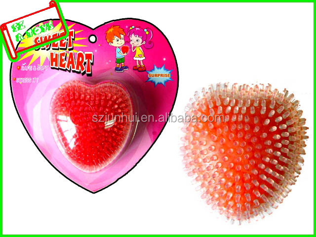 Valentine's gifts heart shape stress ball dear lover