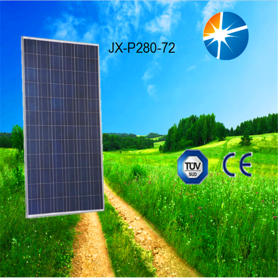 Polycrystalline silicon high power effciency 280w solar cell/ solar panel price