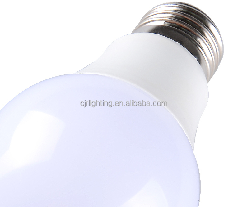 A60 Plastic 220 Degree LED Lamp Bulb 5W 7W 9W 11W E27 Bulb LED Light a19 dimmable 60 w equivalent daylight