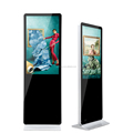 "WIFI Android OS 58"" inch UHD LCD digital signage advertising totem ground standing type"