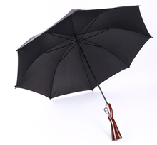 2018 Summer New Inventions defensive protective unbreakable safety umbrella with special golf club handle