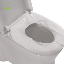 Waterproof PE Back Paper Disposable Toilet Seat Cover