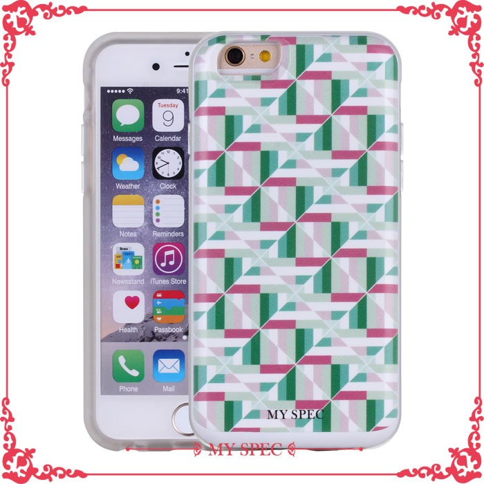 Fashion convenient uv color printing customized cell phone cases for iphone6s