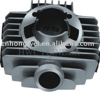Motorcycle engine cylinder set