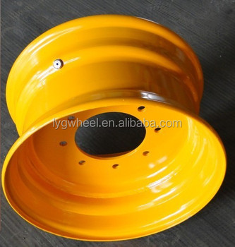 8.25x16.5 Skid Steer Loader Wheels, for 10-16.5 Tire