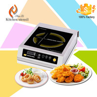HuaNan Hotel Restaurant Commercial Stainless Steel Induction Cooker Factory H35A