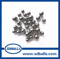 6.35mm 1/4''' Hot sale carbon steel chrome steel Grinding Media Ball for Ball Mill in Shandong