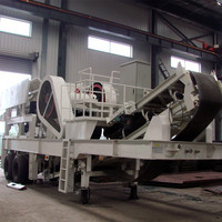 Most popular high efficiency portable type series mobile jaw crusher