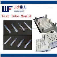 32 cavity test tube injection mould/high quality medical test tubes mold
