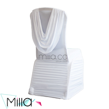 New Style Wedding Lycra Spandex Banquet Hotel Wedding Chair Cover with Valance