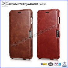 2015 hot new high quality cowhide leather case for i phone6
