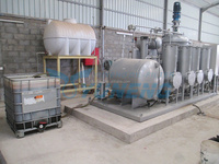 Used oil purifier for tyre pyrolysis process with CE
