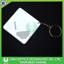 Novelty Mini Portable Digital Voice Recorder Keychain/Key Holder/Keyring For Promotion Gifts