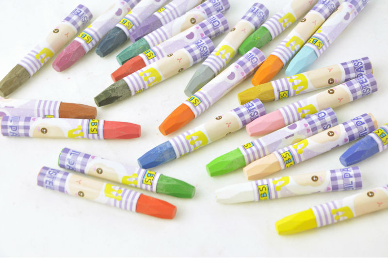 office &school suppliers hight quality oil pastel