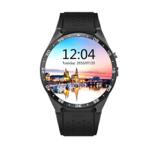 Bluetooth Smartwatch Heart Rate Monitor Android Wear Gps Tracker Smart Watches King Wear KW88 Smart Watch Mtk6580