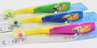 Small Baby toothbrush with soft bristle and image print