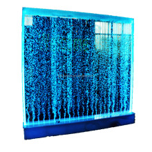 programmable color changing water bubble wall,acrylic bubble wall