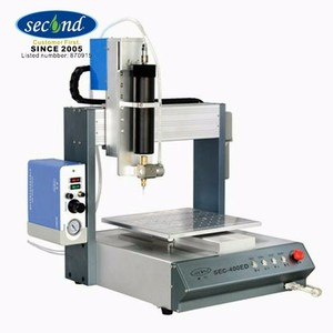 300cc Cassette Barrel High precision valve 400*400 working range table SMT Tabletop Automatic Glue Dispensing Machine