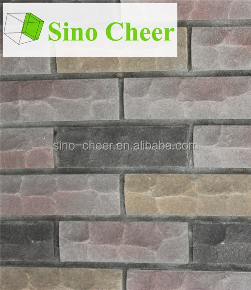 decorative wall cladding artificial stone fence for wall