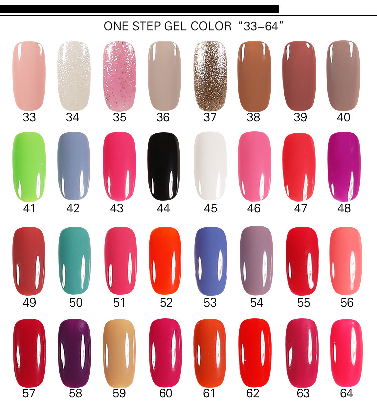 Manufacturer Of Uv Gel Nail Polish One Step Gel Without Base And Top ...