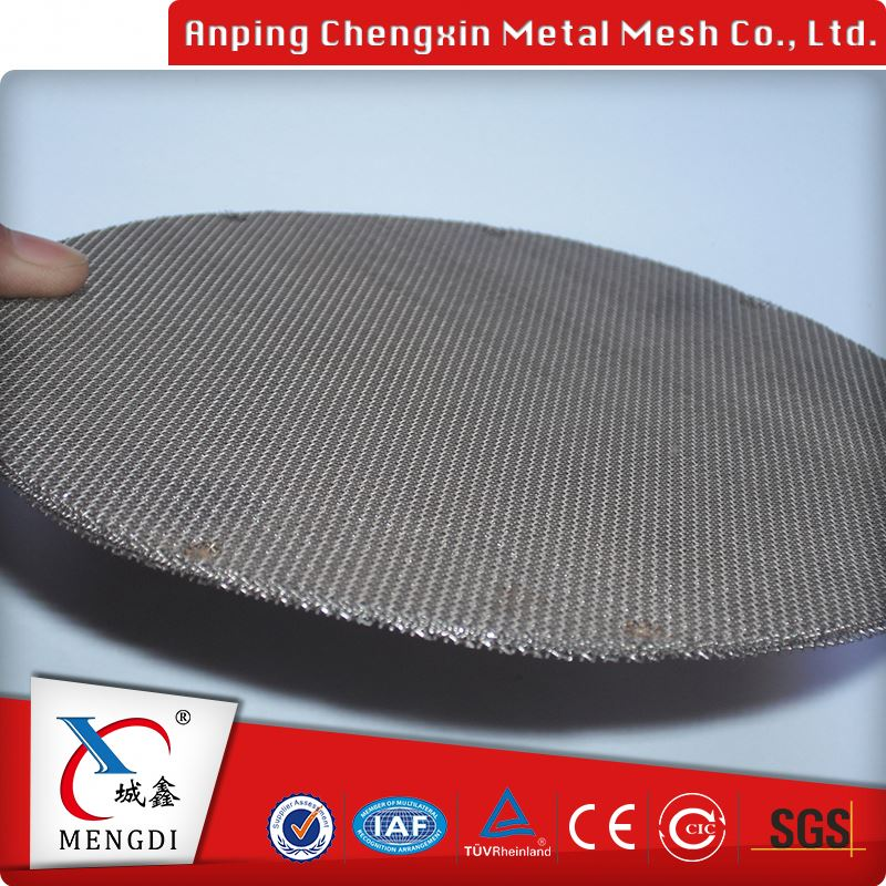 factory stainless steel filter wire mesh screen coffee filter disc