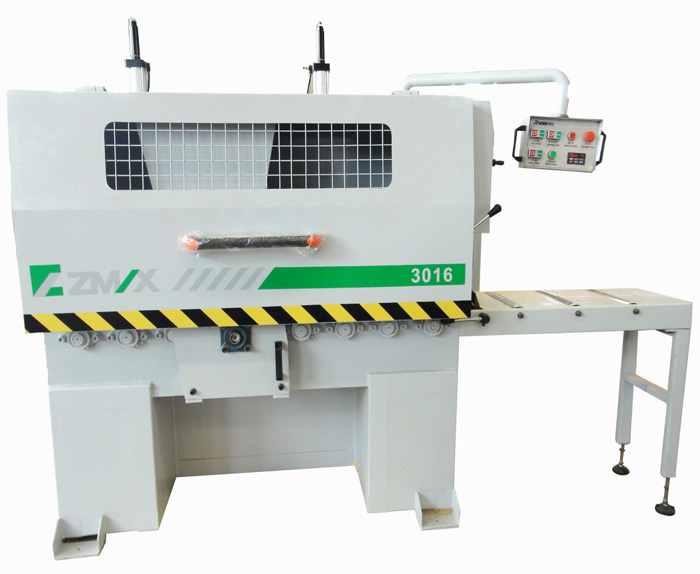 Rubber Plank Woodworking Multi Rip Saw Machine MJ-3016