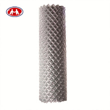 wholesale high quality square post hot dipped galvanized used security chain link wire mesh fence for sale factory (from china)