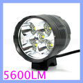 Rainproof Aluminum Alloy Cree XML T6 LED Bicycle Light