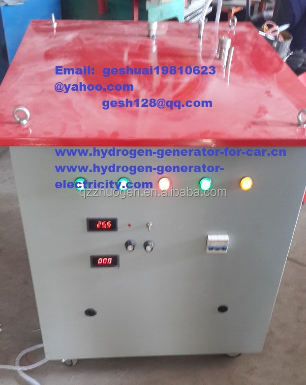 380V/24V due-voltage Green energy emission reduction Hydrogen HHO fuel saver car & carbon cleaner truck diesel genset